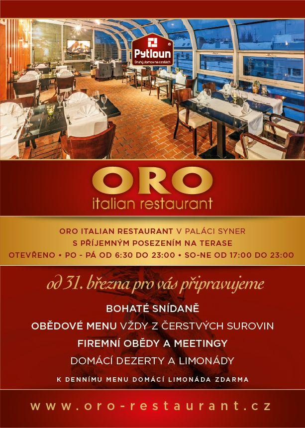 Restaurace ORO | Ubytování v Liberci