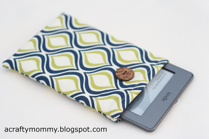 STITCHED by Crystal: Tutorial: Kindle case