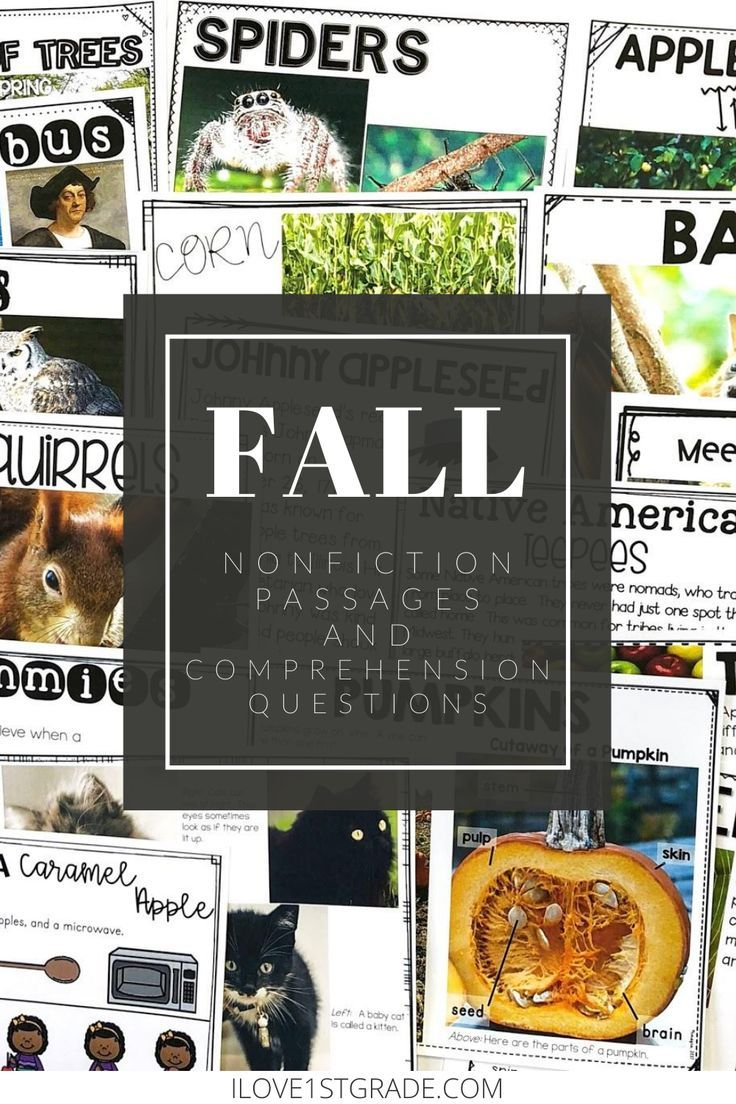 Nonfiction Reading Comprehension For Fall Digital And Printable In 2020 Nonfiction Reading Reading Comprehension Nonfiction Reading Passages [ 1104 x 736 Pixel ]
