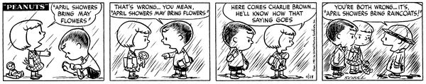 Kindred Spirits | Peanuts | April 28, 1951