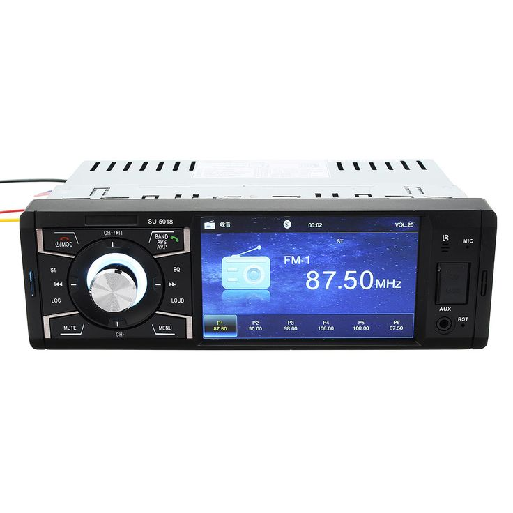 4.1inch Screen Car Auto Stereo Audio MP5 MP4 MP3 Player Bluetooth AUX FM Radio