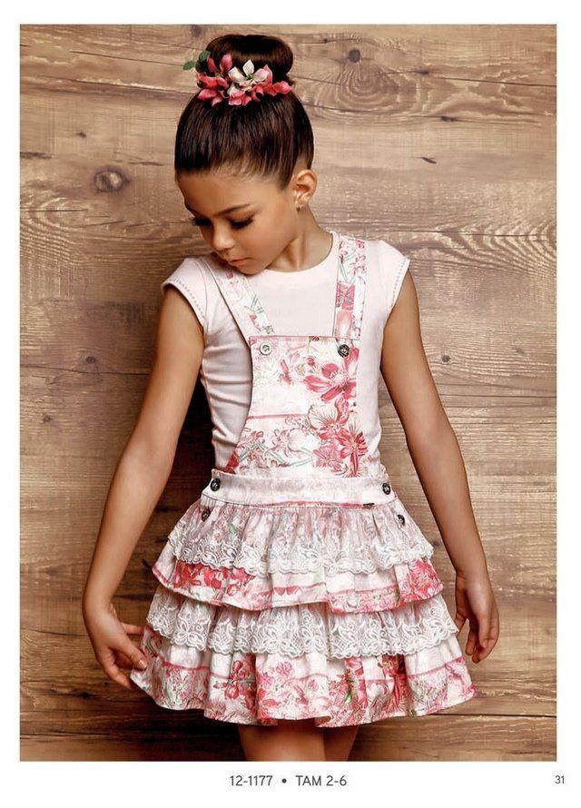 Blusa Infantil comSalopeteInfantil e Diforini Moda Infanto Juvenil Conjunto - Saia Infantil com Salopete Diforini com 2 Peças: Blusa Infantil Diforini Mod...