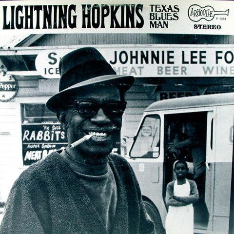 Lightning Hopkins Texas Blues Man – Knick Knack Records