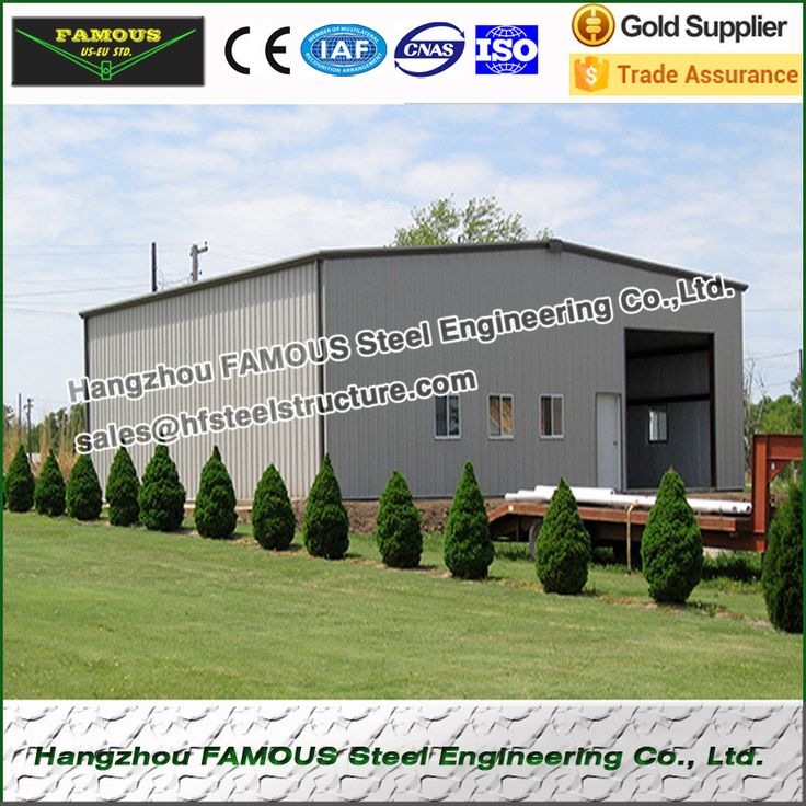 Metal garage and steel sheds from China steel structure fabrication #Affiliate
