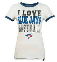 I love Blue Jays Baseball t-shirt