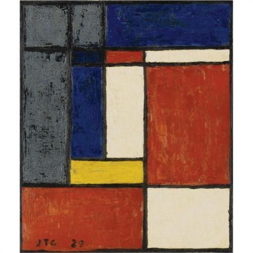 Costruzione Geometrica - Joaquin Torres Garcia. - Descubra las obras disponibles a la venta en www.modum-art.com #modumart