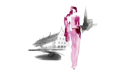 Printemps. Aurore de la Morinerie, fashion illustrator, Paris. Illustratrice de mode. Agent and Artists.