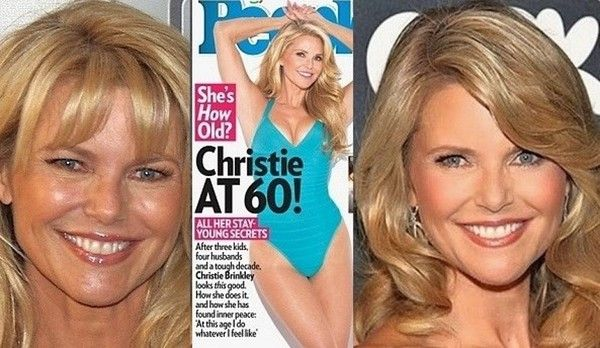 Christie Brinkley said her anti-aging beauty secrets are a vegan diet and yoga workouts. Christie said she's open to plastic surgery.