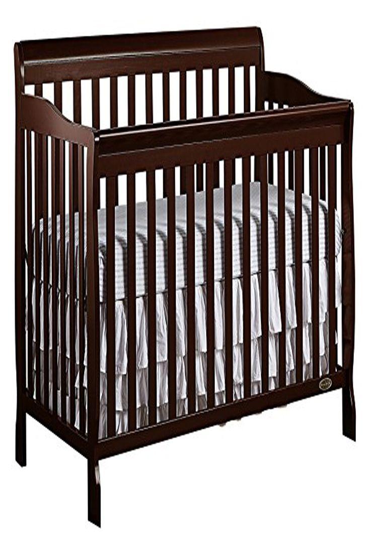 Dream On Me Ashton 5 In 1 Convertible Crib Espresso Convertible Toddler Bed Baby Cribs Convertible