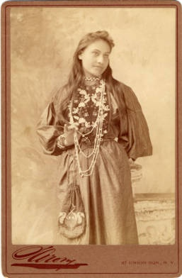 Carrie C. Blue Jacket ~ Shawnee, 1893 Vinta, Oklahoma (born Apr 6, 1875 - died Dec 24, 1960)