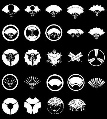 扇紋 on 家紋World