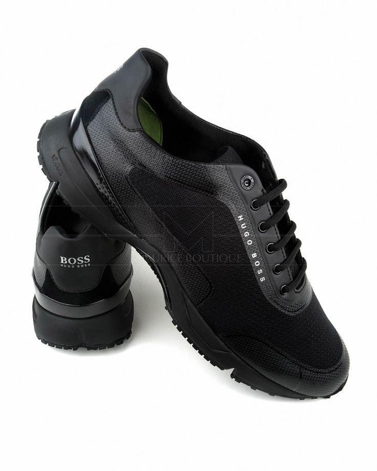 Zapatos HUGO BOSS ® Negro ✶ Velocity Runn Metb | ENVÍO GRATIS