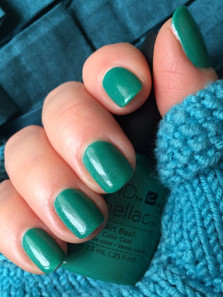 First Colour Of 2016 Cnd Shellac Art Basil Nails Pinterest Cnd Shellac