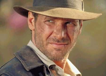 Umm, of course I want to go to dinner with Indiana Jones. I wanted to BE him from the ages of basically 4 to 10 (or maybe I still do). No monkey brains for dinner though.
