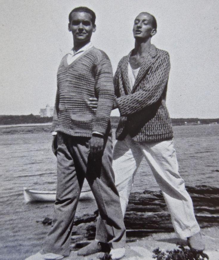 Salvador Dali & Federico Garcia Lorca (Cadaques)