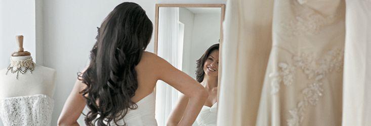 """+++ HEISS IN WEISS +++  Sie planen gerade Ihre Hochzeit? Da haben wir was für Sie! Es soll ja alles perfekt werden: """"Welche Figur passt zu welchem Kleid?"""""""