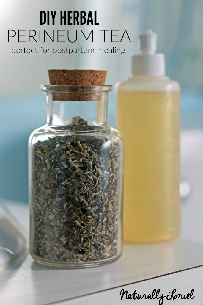 This herbal perineum tea is made up of many different herbs that promotes healing, soothes the swollen area, and reduces soreness. Perfect for postpartum!