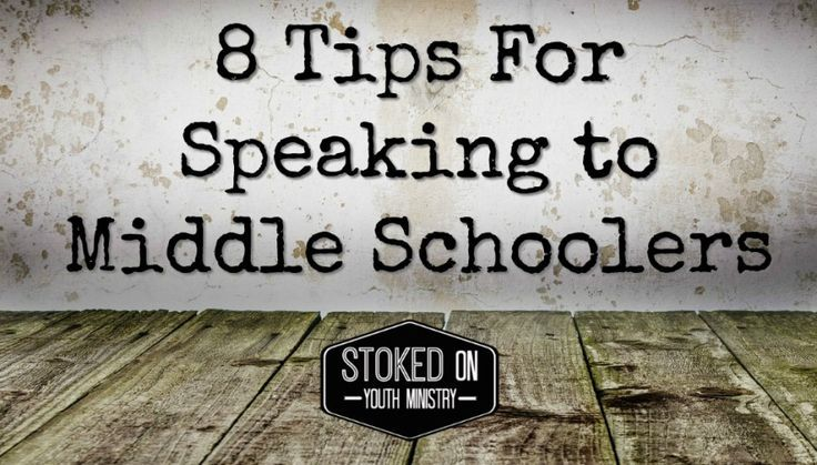 We all know middle school ministry can be difficult for the simple reason, they are middle schoolers! One of the most difficult tasks in middle school ministry is speaking and not being upstaged by…
