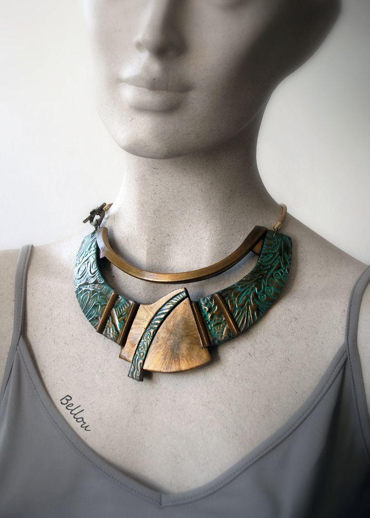 1000 id es sur le th me collier de cuivre sur pinterest bijoux en fil d 39 aluminium bijoux fil - Nettoyage cuivre vert de gris ...