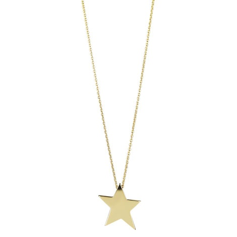 Jan Logan 9ct yellow gold Star pendant