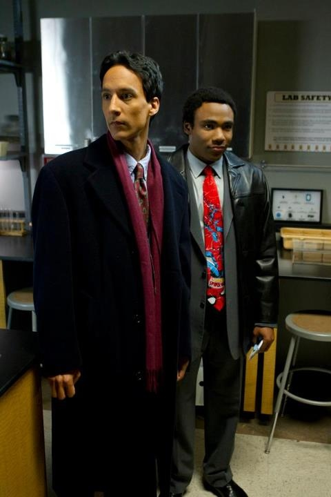 Danny Pudi and Donald Glover as Abed and Troy from Community. I think they're both adorable!