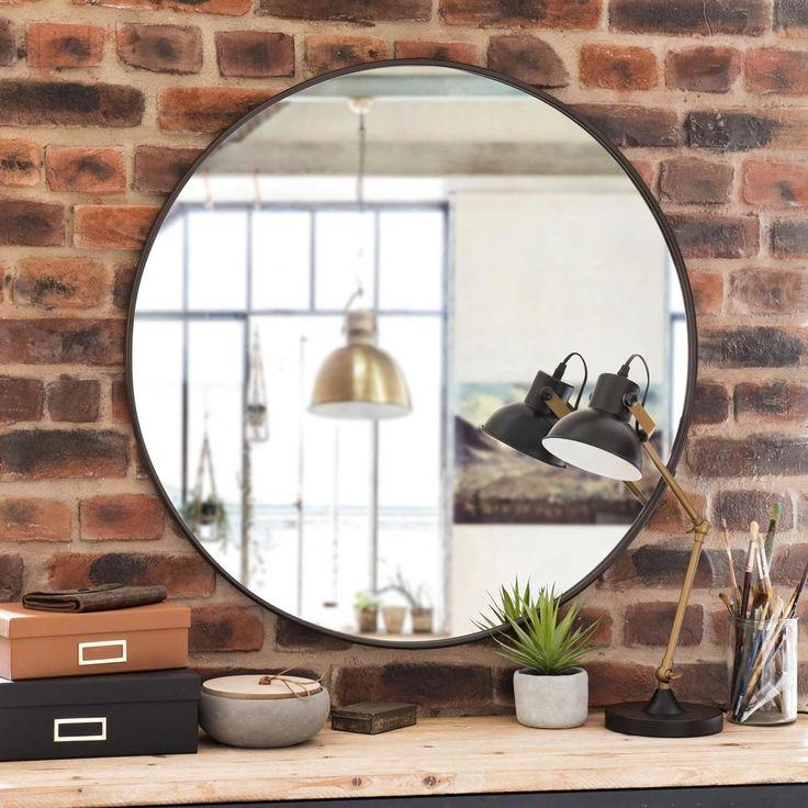 Les 83 meilleures images du tableau entr e sur pinterest for Miroir rond entree