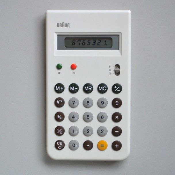 Braun electrical - Household - Braun ET 55 control (white)