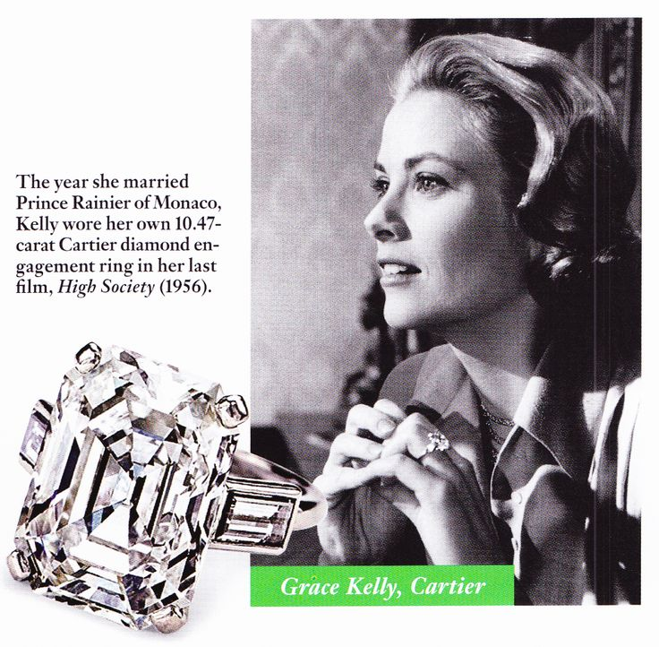 princess grace grace kelly engagement ring prince rainier of monaco