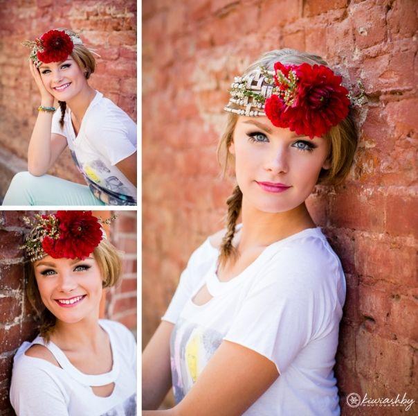 Stylized Urban Senior Portraits | www.kiwiashby.com/seniors