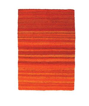 Silk-And-Cotton Rug   From show-stopping wall paint to earthy home accents, you can easily (and artfully) add orange to any room in the house.