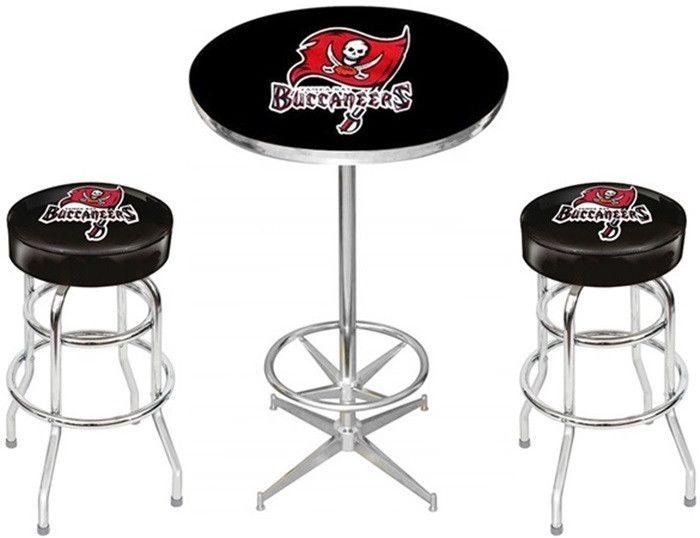 Tampa Bay Buccaneers Pub Table Set at SportsFansPlus.com