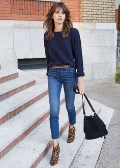 Best 25  Navy blue sweater ideas on Pinterest   Blue sweater ...
