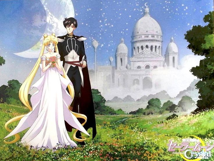 Sailor Moon crystal- mamoru and Usagi!