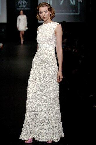 Crochet wedding dress. Made to order. Custom made