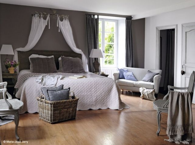 ciel de lit pour chambre romantique