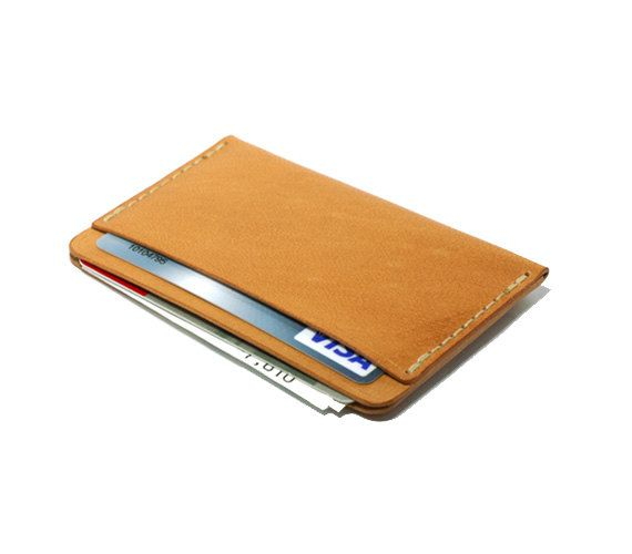card holder handsewn leather card holder by DHKgoods on Etsy, $40.00