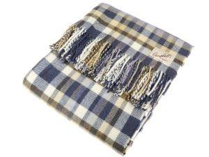 Lambswool Blanket Heather