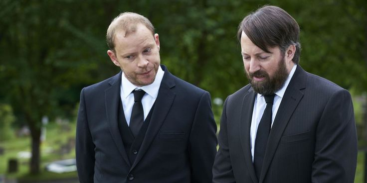 They're 'Back': British comedy duo Mitchell & Webb are back in 'Back,' a six-episode series debuting on Sundance Now Nov 16