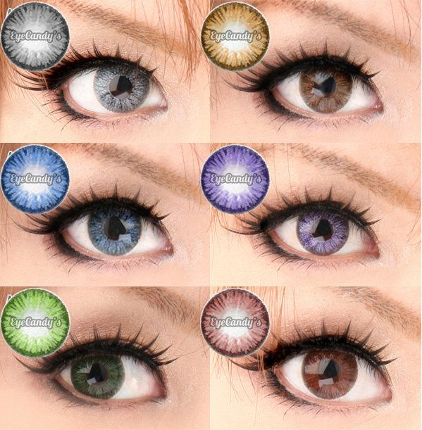 Royal Vision Pinky Color circle lenses lens cosmetic colored contacts