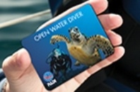 Finally found my Scuba Certification Card