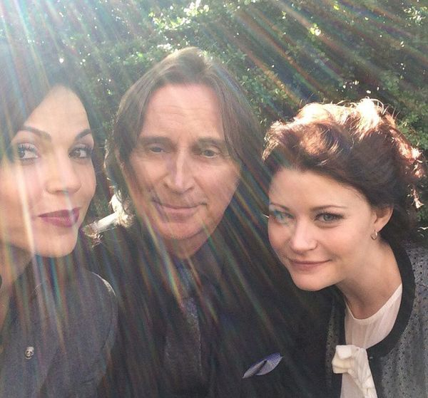 """❤👑 Lana Parrilla """"""""@OnceABC: Who's ready to have their #OUAT squad back? 📷: """" I am! I am! I am!!! 🔥🗡📚"""