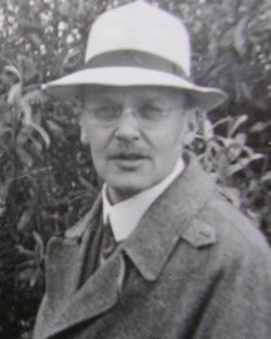 Hans Geiger (1882–1945) was a German physicist. It is impossible to discuss the history of the atom without reference to the famous gold foil experiment by Ernest Rutherford in 1909, which demonstrated experimentally for the first time the existence of the atomic nucleus. The results paved the way for Niels Bohr to develop his own atomic model. A key element of that experiment was the invention of a reliable device able to measure alpha radiation, by Rutherford's lab assistant, Hans Geiger.