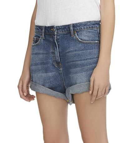 Camilla And Marc - Delphine Denim Short Faded Indigo
