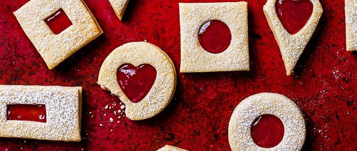 This posh Jammie Dodger recipe updates a favourite childhood biscuit. One of our favourite magazine cover's ever, they're a really impressive tea time snack