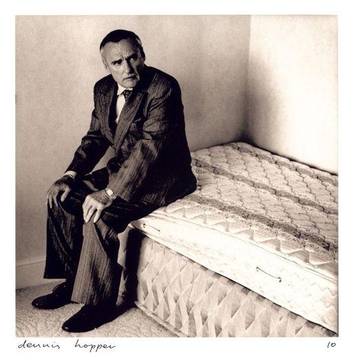 Dennis Hopper photographed by Anton Corbijn