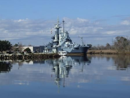 Wilmington, North Carolina-USS North Carolina