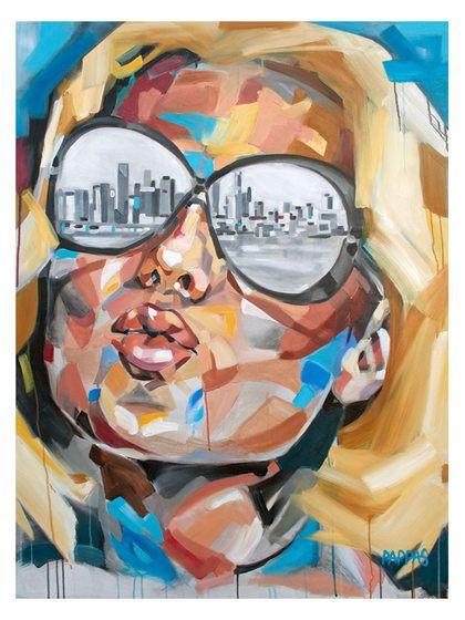 Miami Sun by Julia Pappas (Canvas) by Bashian Home at Gilt