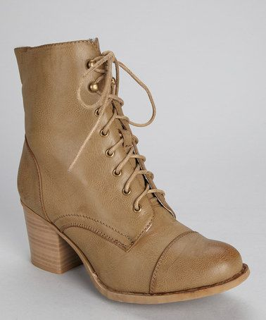 Another great find on #zulily! Taupe Karolina Ankle Boot by Bucco #zulilyfinds