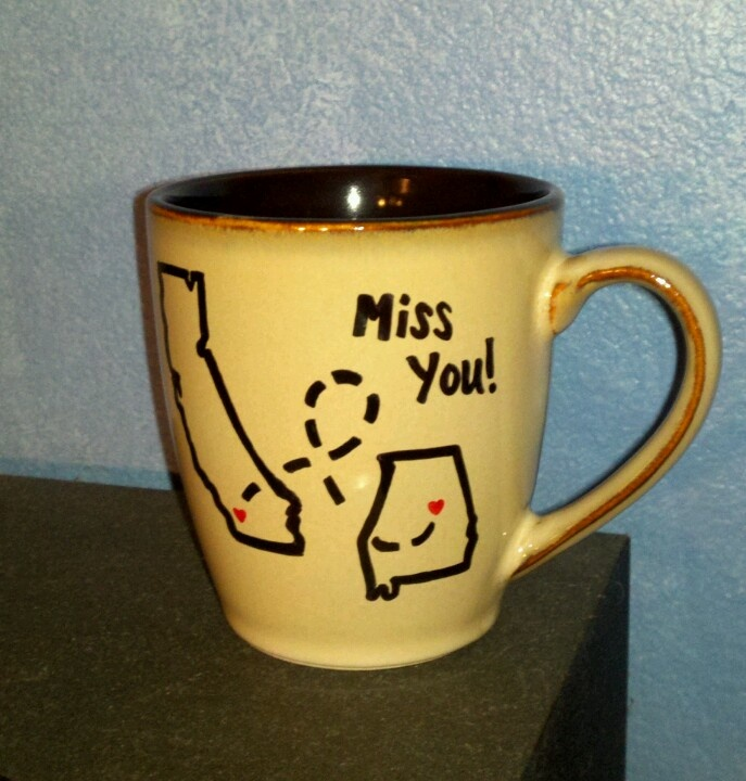 18 best moving away gifts images on pinterest hand made gifts made this for a close friend after i moved away purchase a ceramic mug solutioingenieria Choice Image