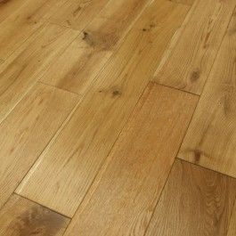 150mm Brushed and Oiled Engineered European Oak Wood Flooring 20/4mm Thick